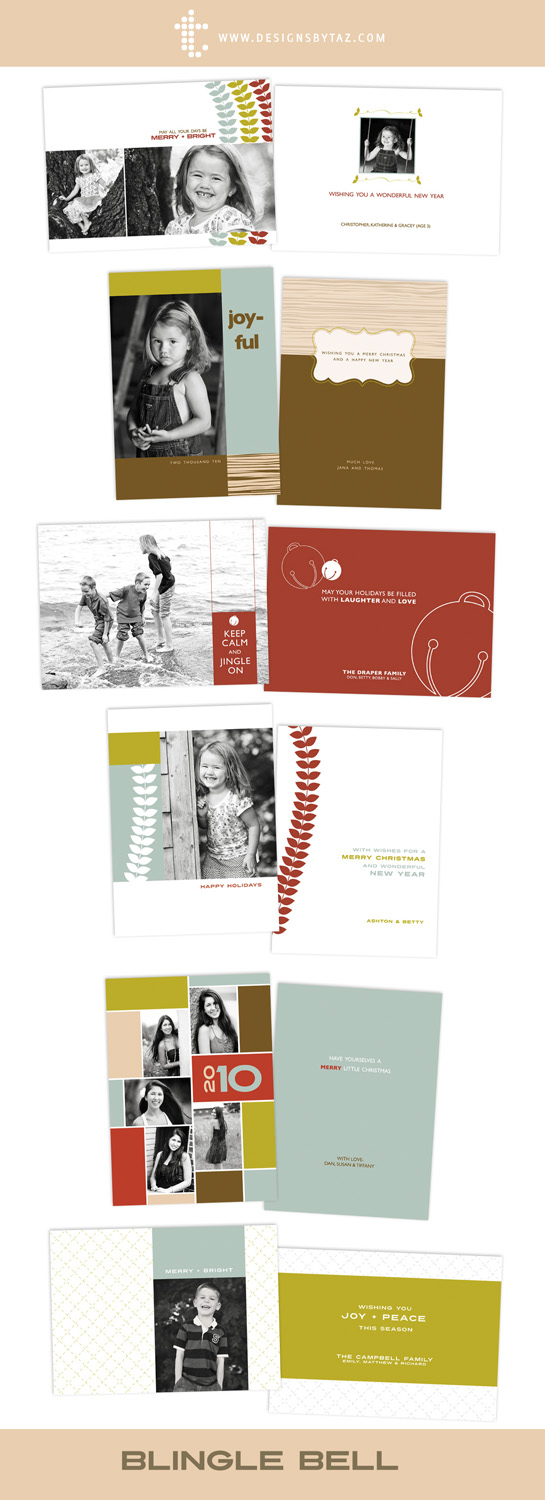 prophoto4 templates - 2010 holiday designs are here designs by taz identity