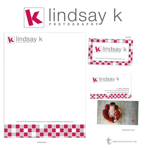 Photography Branding Set for Lindsay K